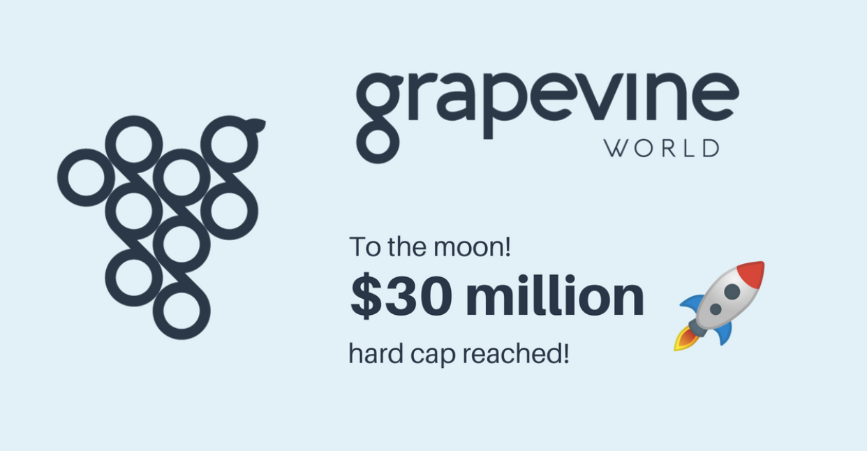 Woohoo! We have reached the hard cap!