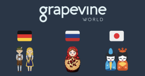Grapevine World Launches Website in 3 New Languages