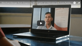 Wernhard Berger from Grapevine World gets an interview with Coin Paddy