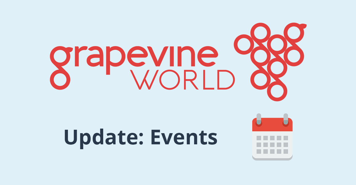 Grapevine Update: Events