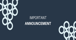 Important announcement about Grapevine ICO Dashboard